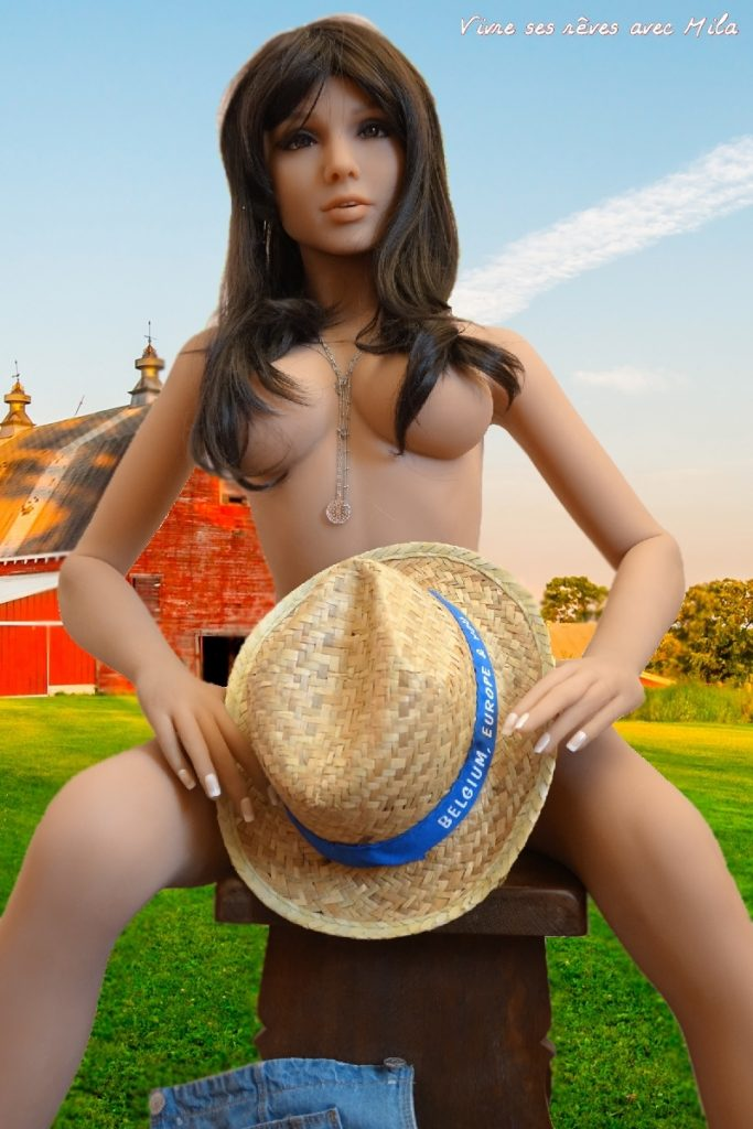 I paid a short visit to the farm … It was an opportunity to show all my skills.00030506